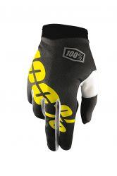 Handschuhe IXS Itrack schwarz-gelb