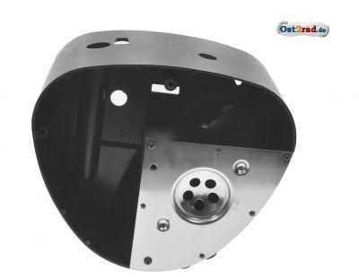 Gehäusemittelteil mit Abdeckplatte (Luftkasten) - für Kunststoffseitendeckel - S53, S83