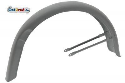 Hinterradkotflügel für MZ RT125/3 , Rohteil, Schutzblech aus Handarbeit