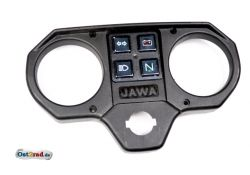 Couvercle boitier instruments JAWA 640