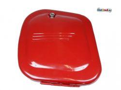 Batteriekasten Jawa CZ 125 - 350 neu rot, Bolzenverschluss