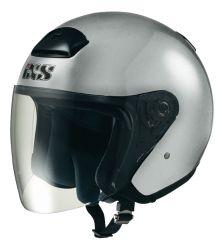 Jethelm mit Visier IXS HX 118 silber