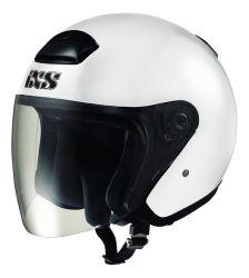Jethelm mit Visier IXS HX 118 weiss