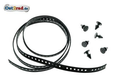 Collier de fixation faisceau fils câbles