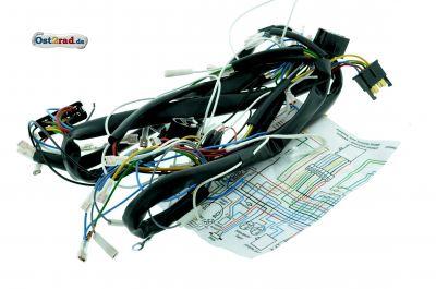 Faisceau électrique JAWA 638 639 640