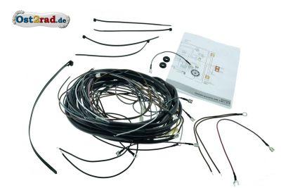 Kabelbaum für Simson Vape S50 S51N S51B S51E mit Blinker