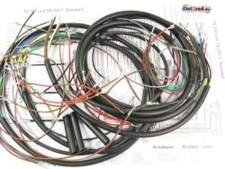 Cable set TS 250 standard without revolution counter
