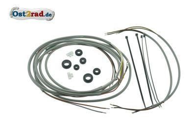 Kabelbaumset Simson KR50 mit Gleichstromhorn inkl. Schaltplan