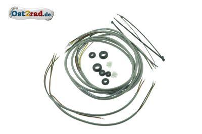 Kabelbaumset Simson KR50 mit Sicherheitsschaltung inkl. Schaltplan