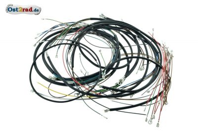 Cable set, cable harness MZ ETZ standard without revolution counter