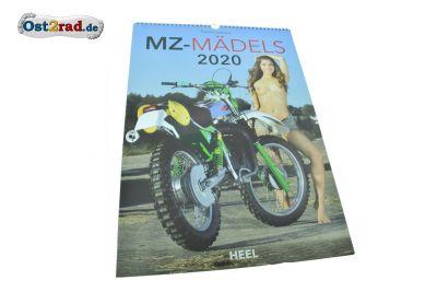 Kalender MZ Mädels 2020