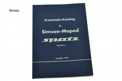 Ersatzteile-Katalog Buch SIMSON Spatz
