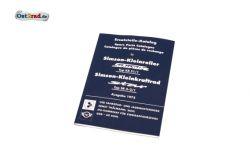 Ersatzteile-Katalog Buch SIMSON Schwalbe Star