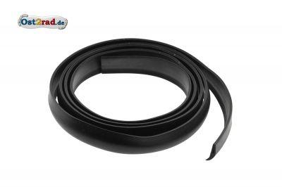 Gummikeder, schwarz - für Vorderrad-Kotflügel - Länge ca. 1600 mm - ES 175, 250, 300