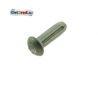 Halbrundniet Kontaktblech Leerlaufanzeige passend für ES TS 250