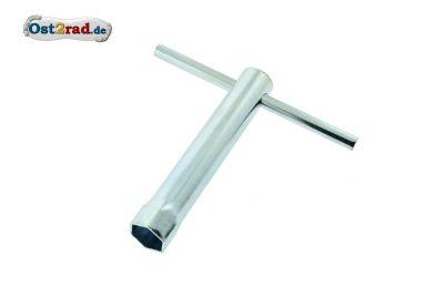 Kerzenschlüssel mit Knebel für ZK-Schlüsselweite 18 mm Moped Motorrad