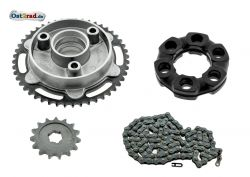 Kit transmission secondaire pour MZ ETZ 125 150