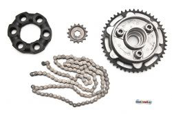Kit transmission secondaire  MZ ES ETS TS 125 150