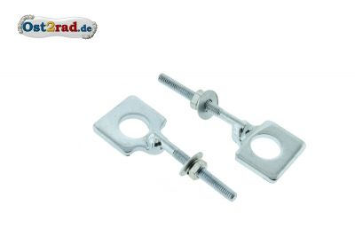 Chain adjuster pair  ES ETS TS ETZ 150 and TS 250
