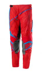 Kinder-Cross Hose IXS Hurricane rot-blau
