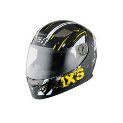 Kinderhelm IXS HX 135 Funky schwarz-gelb-weiss