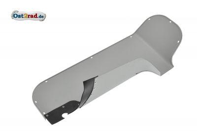 Knieschutzblech links TS 250 grau