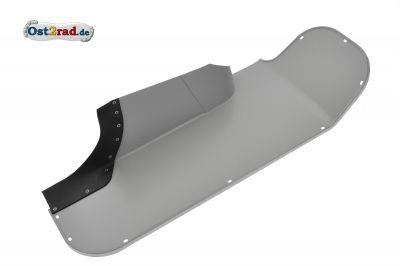 Knieschutzblech rechts TS 250 grau