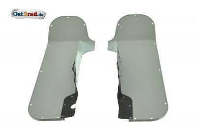 Knieschutzblech PAAR TS 250 grau