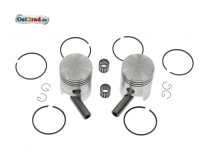 Piston set JAWA 638, 639, 640 Size 58.25 mm