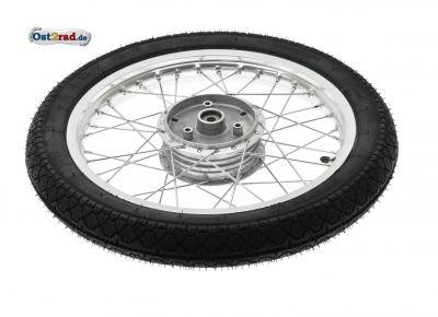 Komplettrad Alu mit Reifen Heidenau K36 passend für SIMSON