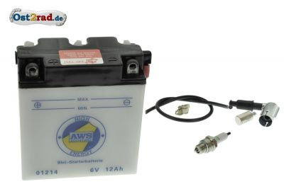 Complete Battery 6V 11A for MZ ETZ, TS