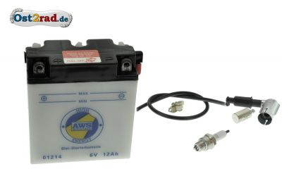 Complete Battery 6V 11A for SIMSON