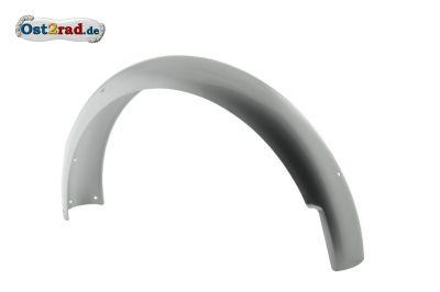 Kotflügel hinten S50 S51 pulverbeschichtet High-End Schutzblech silber metallik