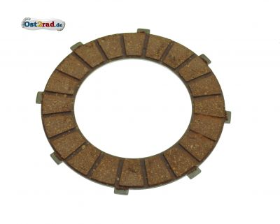 Coupling lamella, clutch disc JAWA 360/559