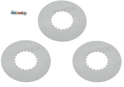 SET 3x Kupplungslamelle Stahlscheibe 1,0 mm S51 KR51/2 SR50 S53