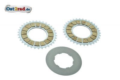 Clutch disc set Jawa Mustang