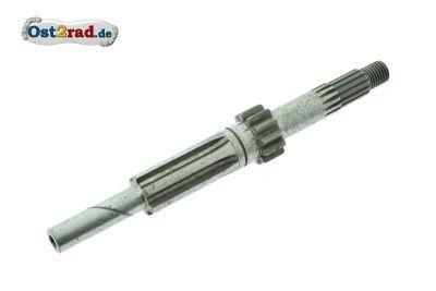 Arbre secondaire boîte de vitesses MZ ETZ 125 150