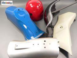 Lackierarbeiten, Teile oder Motorrad lackieren