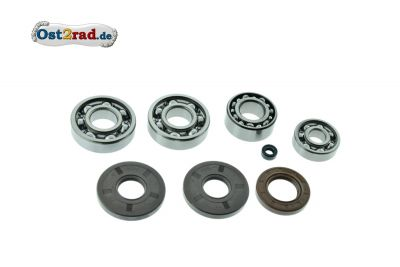 Bearing set with sealing rings JAWA 634