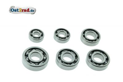 Bearing set MZ TS 125, 150 being outside wave sealing rings