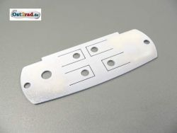 Lamp holder tail light CZ 125, 175, 250, PAV