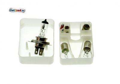 Coffret ampoules 12V avec H4 MZ ETZ