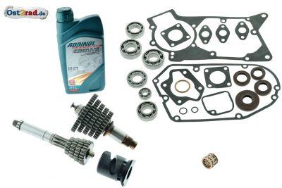 Mega Umrüstsatz 5-Gang Getriebe für Simson S51 SR50 KR51/2 KOMPLETT