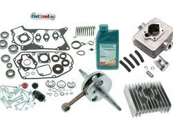 Komplettset Motorregeneration S51 KR51 SR50, 50ccm Zylinder, Kurbelwelle