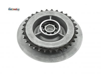 Mitnehmer Z= 31 - mit SKF-Kugellager 6203 C3 und Sicherungsring - Hinterradantrieb - Roller SR50, SR80