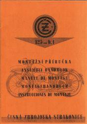 Montagehandbuch CZ 125 B T in 5 Sprachen