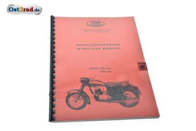 Installation Manual, repair manual JAWA 353, 354