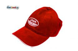 Basecap, cap with logo JAWA red