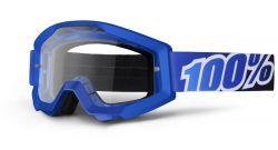 MX Brille Crosshelm blau-schwarz