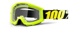 MX Brille Crosshelm neon gelb